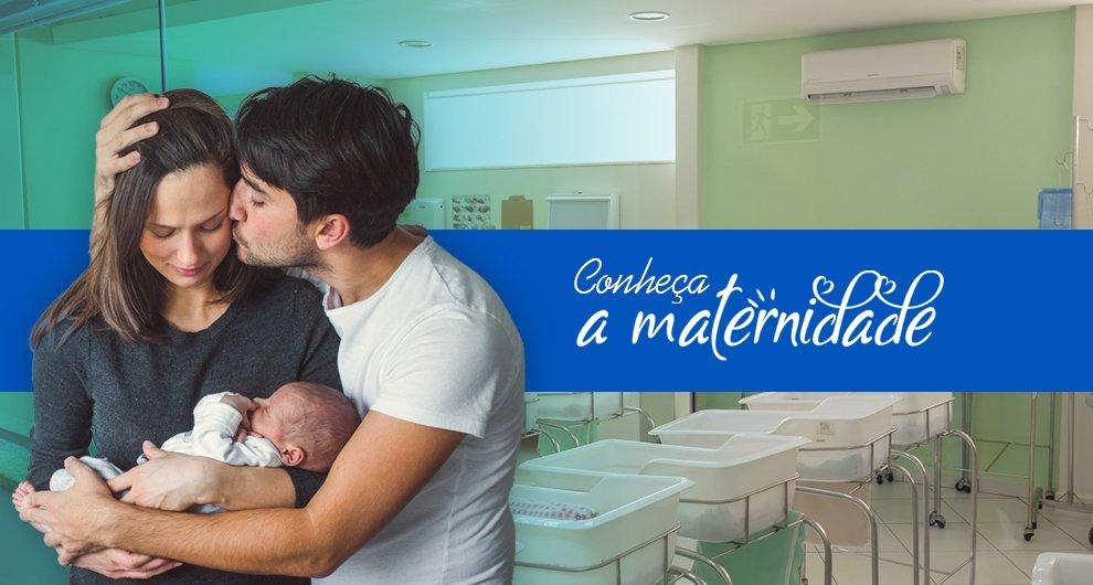 Conheça a Maternidade - Hospital São Marcos